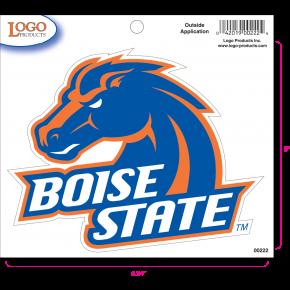 Boise State University - Sticker - Medium - Horse Head
