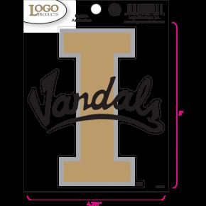 University of Idaho - Sticker - Medium - 'I Vandals'
