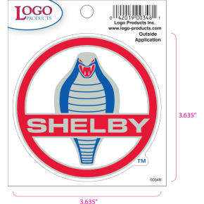Shelby - Sticker - Small