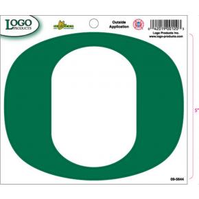 University of Oregon - Sticker - Medium - O - Green