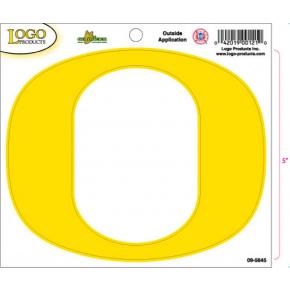 University of Oregon - Sticker - Medium - O - Yellow