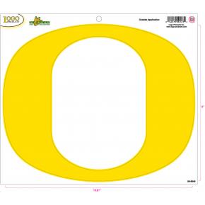 University of Oregon - Sticker - Large - Yellow 'O'