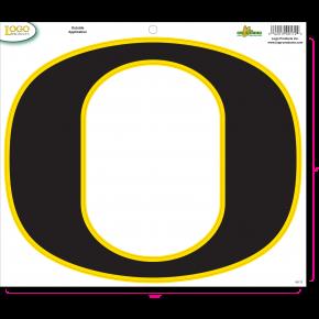 "University of Oregon - Sticker - Large - Neon ""O"""