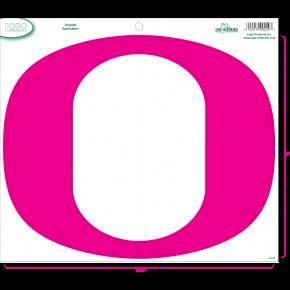 University of Oregon - Sticker - Large Pink O