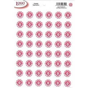 University of Utah - Mini Sticker Sheet - Red