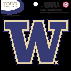 University of Washington - Sticker - Small - 'W'