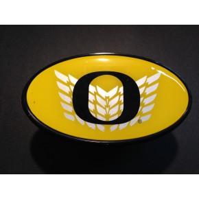 University of Oregon - Hitch Cover - Snap Cap - Chevron O - Yellow
