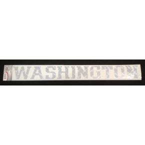 University of Washington - Sticker - Windshield - Diamond Plate Washington