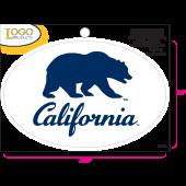 University of California Berkeley - Sticker - Small - Bear and California