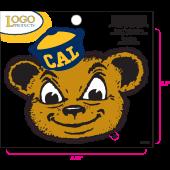 University of California Berkeley - Sticker - Small - Bear