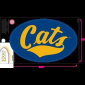 Montana State University - Sticker - Small - 'Cats'