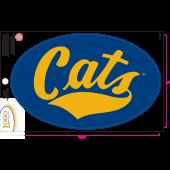 Montana State University - Sticker - Medium - 'Cats'