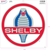 Shelby - Sticker - Large