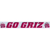 University of Montana - Sticker - Windshield