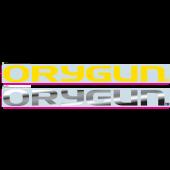 University of Oregon - Sticker - Windshield Yellow 'Orygun'