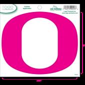 University of Oregon - Sticker - Medium - O - Pink