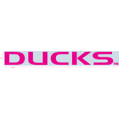 "University of Oregon - Sticker - Windshield - Pink - ""Ducks"""
