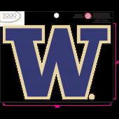 University of Washington - Sticker - Medium - 'W'