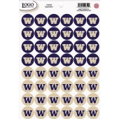 University of Washington - Mini Sticker Sheet - Huskies