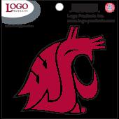 Washington State University - Sticker - Small - Crimson Logo