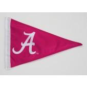 University of Alabama Pennant Shape Car Flag