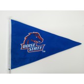 Boise State University - Car Flag - Blue Pennant