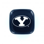 Brigham Young University - Hitch Cover - Tail Cap - Blue with white logo