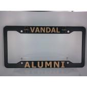 University of Idaho, Black Plastic License Plate Frame, Alumni